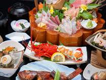 *夕食一例/地元で揚がった新鮮なものを贅沢に!