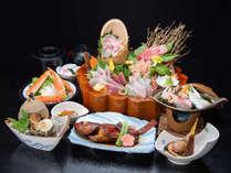 *夕食一例/季節の旬の素材満載の活き造り。新鮮さは御宿ならでは!