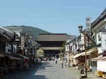 長野善光寺門前町