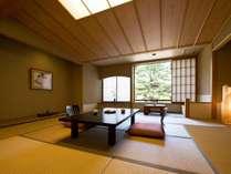 ●客室一例和室薫風の館 茜館3~7階12畳