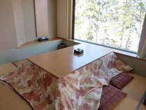 【新館 翠】掘りごたつ客室12.5畳+3畳