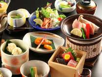 ■お手軽会席夕食イメージ(内容等予告なく変更する場合がございます)