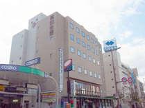 *≪外観≫市の中心部に位置し、高知城など、土佐路の観光エリアへの拠点に便利です。