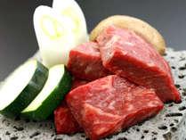 群馬県ブランド牛の上州牛は溶岩プレートステーキで!