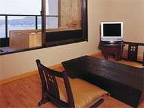 舞タイプ客室の1例 2間続きで写真のお部屋以外に和室もあります。