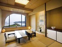 飛島館露天風呂付客室 和室の一例