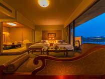 最上階にある特別フロア「華真珠和洋室」