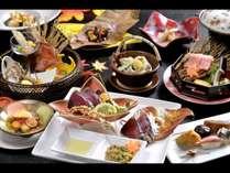 当宿看板料理の藁焼き鰹タタキ付き会席!煌(きらめき)プラン〈秋〉