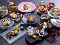 季節の食材や厳選食材にひと手間かけておもてなし。煌プラン〈秋〉
