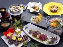 鰹を刺身とタタキで食べくらべ。龍馬会席プラン〈秋〉