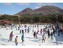 【アイススケート満喫】大人気!「宮崎牛ロース陶板会席」◆特典◆チケット付