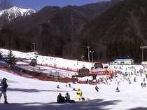 【リフト券2日分付(最大2か所)】1泊2日のスキー三昧「泊まろうトゥモロー」プラン♪