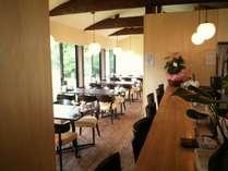 Cafeこざえもん:お食事をしていただく場所です。