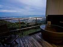 三河湾の大パノラマを見渡しながら、湯ったり、ゆっくり♪◆月昇宮◆