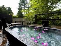 風の谷の庵露天風呂一例
