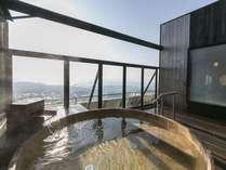 開放感ある露天風呂で日常から離れゆっくりとした時間をお過ごしください◇南十字の湯◇