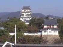 ツインB1005号室からの福山城