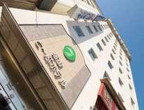 と~ぶホテルは福山駅南口目の前