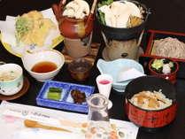 松茸ご膳料理イメージ