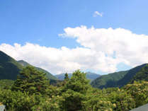 お部屋から望む奥飛騨の景色(一例)お天気が良い日には笠ヶ岳も