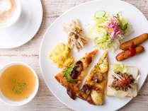 【朝食】自分スタイルでつくるワンプレート(※イメージ)