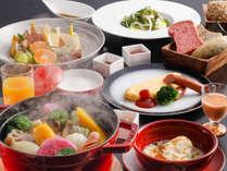 一日の元気をチャージする朝御飯は島の素材をたっぷり用いた充実の洋朝食を(写真はイメージ)