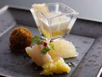 日本料理に洋のテイストを纏わせた鐸海流キュイジーヌ≪料理イメージ≫
