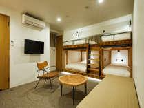 101_シンプルに必要なものを揃えた客室