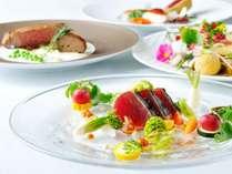 【夕食】「鰹と柚子の黒潮オーベルジュ」と題した高知を味わう料理