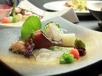 【夕食一例】四季折々、旬の創作懐石料理でおもてなし致します