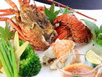 3月末までの期間限定!伊勢海老会席一例。旬の贅沢な美食プランです。