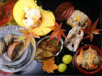 秋の彩り 合歓の前菜