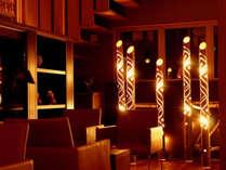 「竹灯籠まつり」当館ではReception棟とRestaurant棟に飾ります。