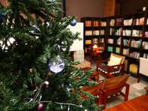 クリスマス仕様のロビー