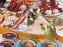 王様コースのお料理一例。贅沢を極めたい人にお薦め