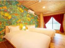2階 寝室 The bedroom