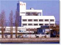 ホテルは利根川近く。お部屋からの景色は最高!