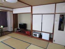 10畳和室40インチテレビ導入
