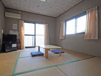 【客室】和室8畳 最大4名様までご宿泊可能です♪