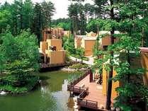 【外観】フォレストヴィレッジ/森と水辺に囲まれたフォレストリゾート※イメージ