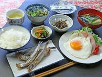 栄養バランスを考えて和朝食をご用意致します☆