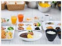 三交インの無料朝食サービスAM6:30~9:30(内容は写真と変わる場合がございます)