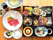 【和楽御膳/一例】佐賀の旬と特選和牛お茶しゃぶを御膳スタイルでご提供いたします