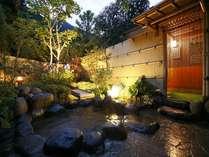 天然温泉100%の3種の無料貸切風呂の宿 山水荘