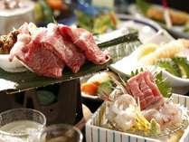 【スタンダードxじゃらん限定】 新鮮な旬彩料理と3種の無料貸切風呂を堪能!2食付お食事処