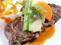 [おすすめ日替わりメニューの一例]静岡牛ランプステーキ