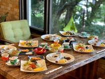 ☆朝食☆自分スタイルにカスタマイズできる和洋食
