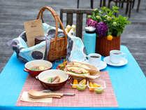朝食「宙の森Breakfast」お届け可能な朝食イメージ♪