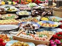 【第1期ふるさと割】焼肉・お寿司と季節味覚の食べ放題♪