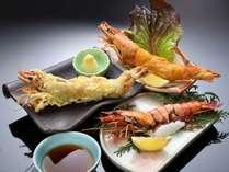 3ランクアップ☆☆☆ズワイガニと特大有頭海老♪エビは調理法を3つの中からチョイスできます
